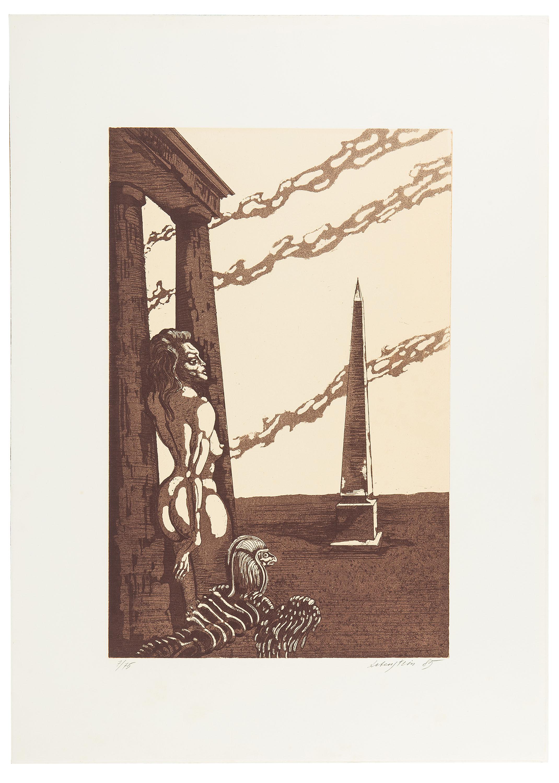 Kobiety i obelisk, 1985 r.