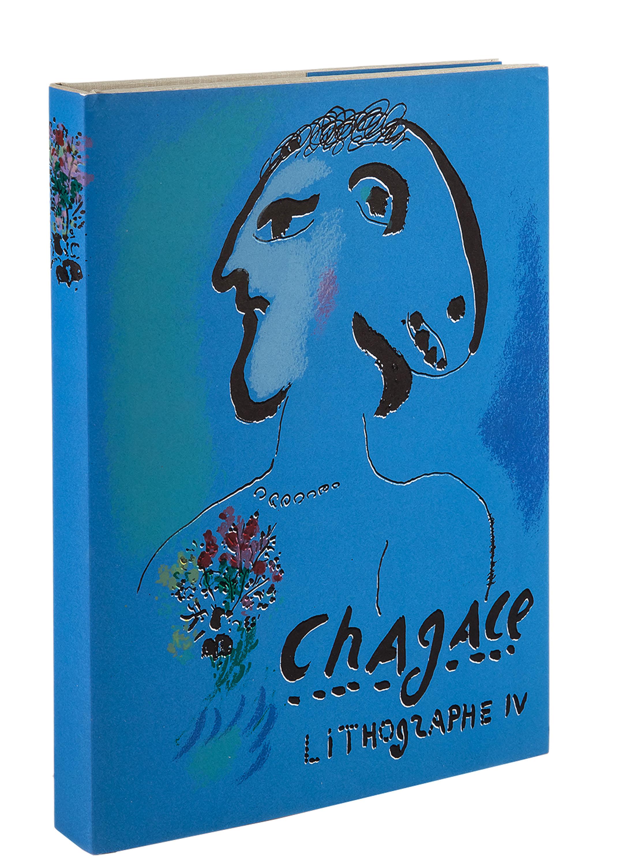 Chagall litograhie IV, książka, 1969 - 1973 r.