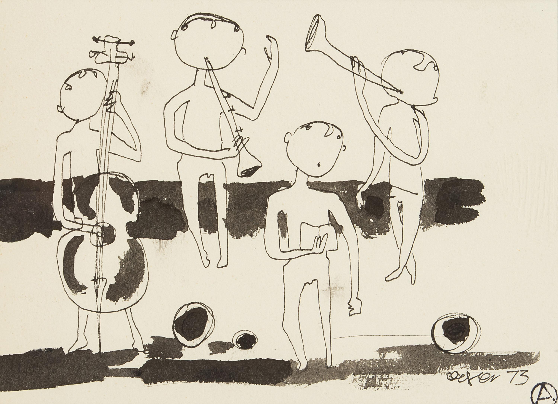 Kwartet muzyczny, 1973 r.
