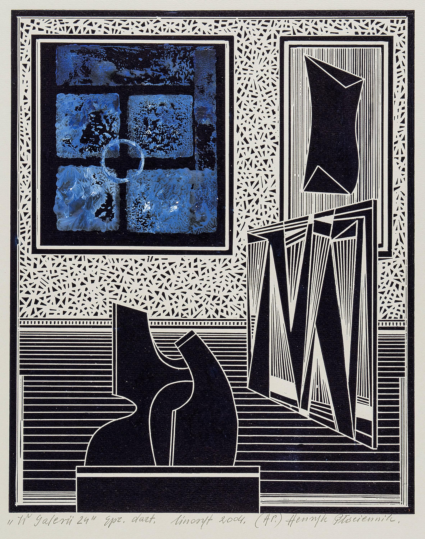 W galerii 24, 2004 r.