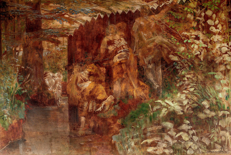 Zuzanna i starcy, 1913