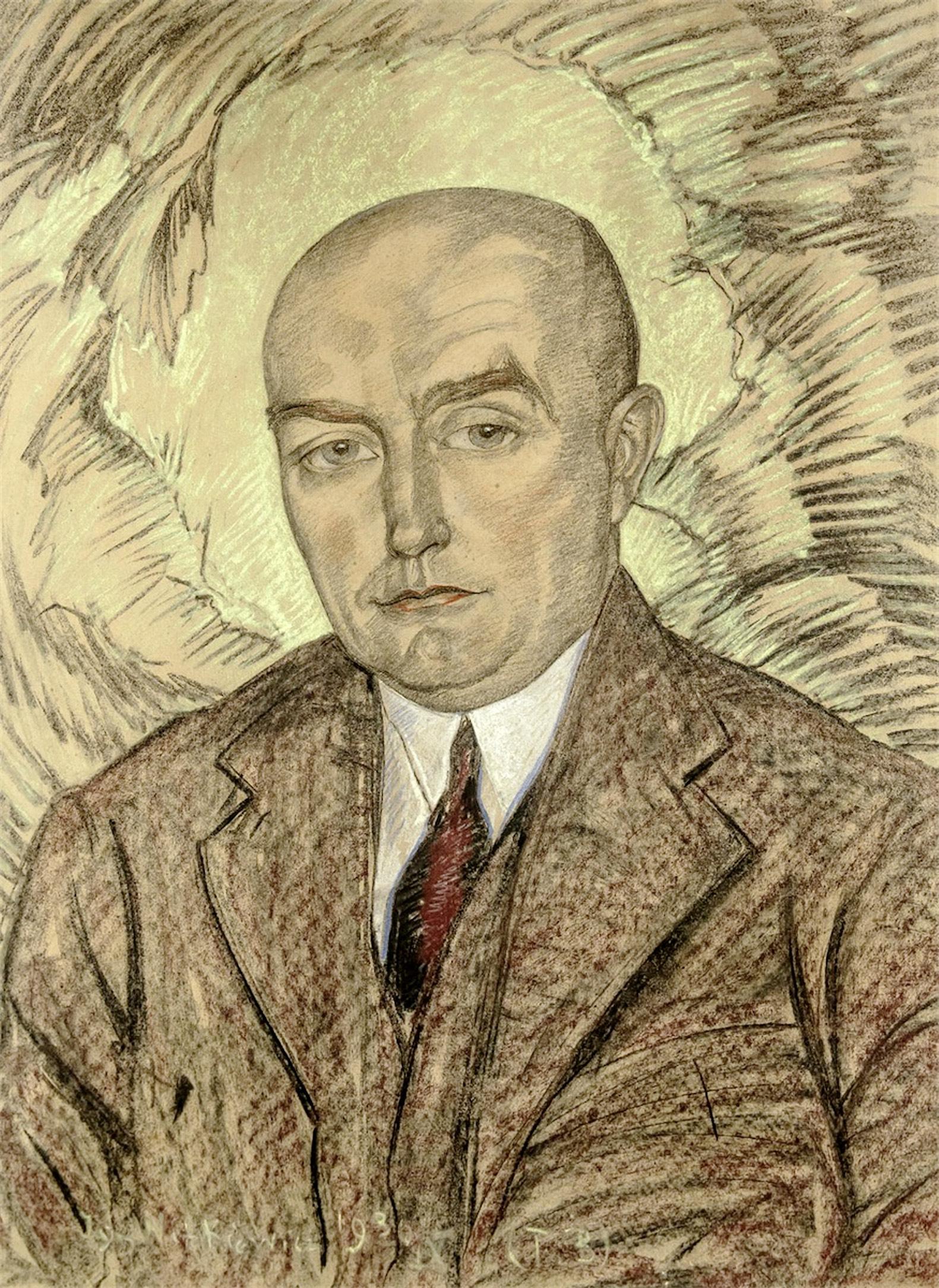 Portret mężczyzny, 1930