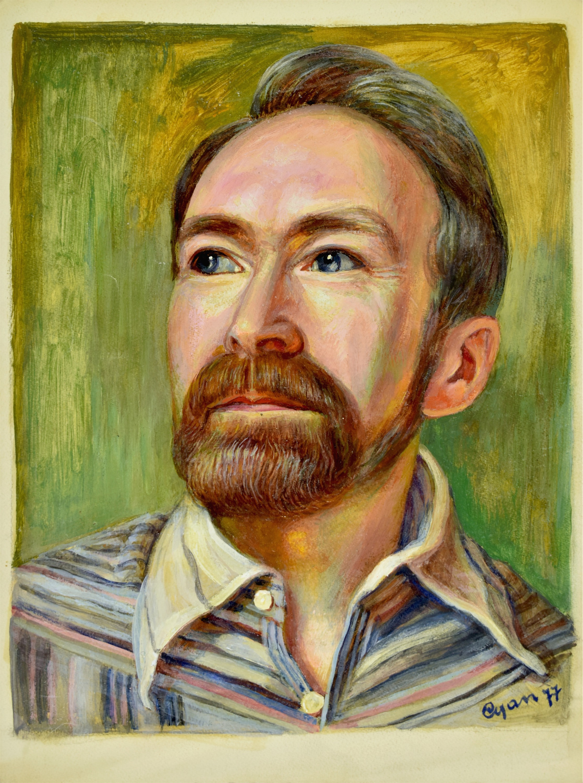 Portret mężczyzny (autoportret?)