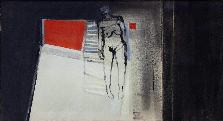 Kobieta leżąca, 2007