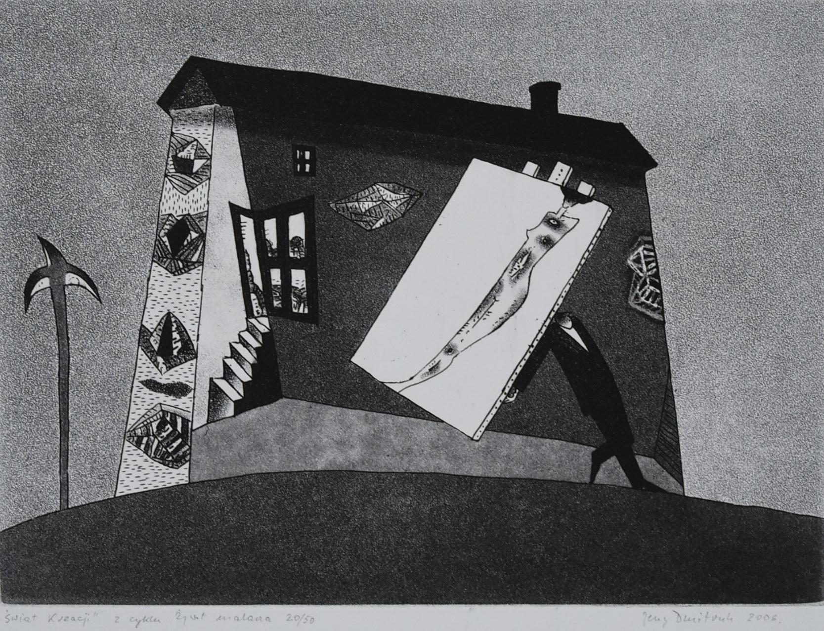 Z cyklu Żywot malarza, Świat kreacji, 2006