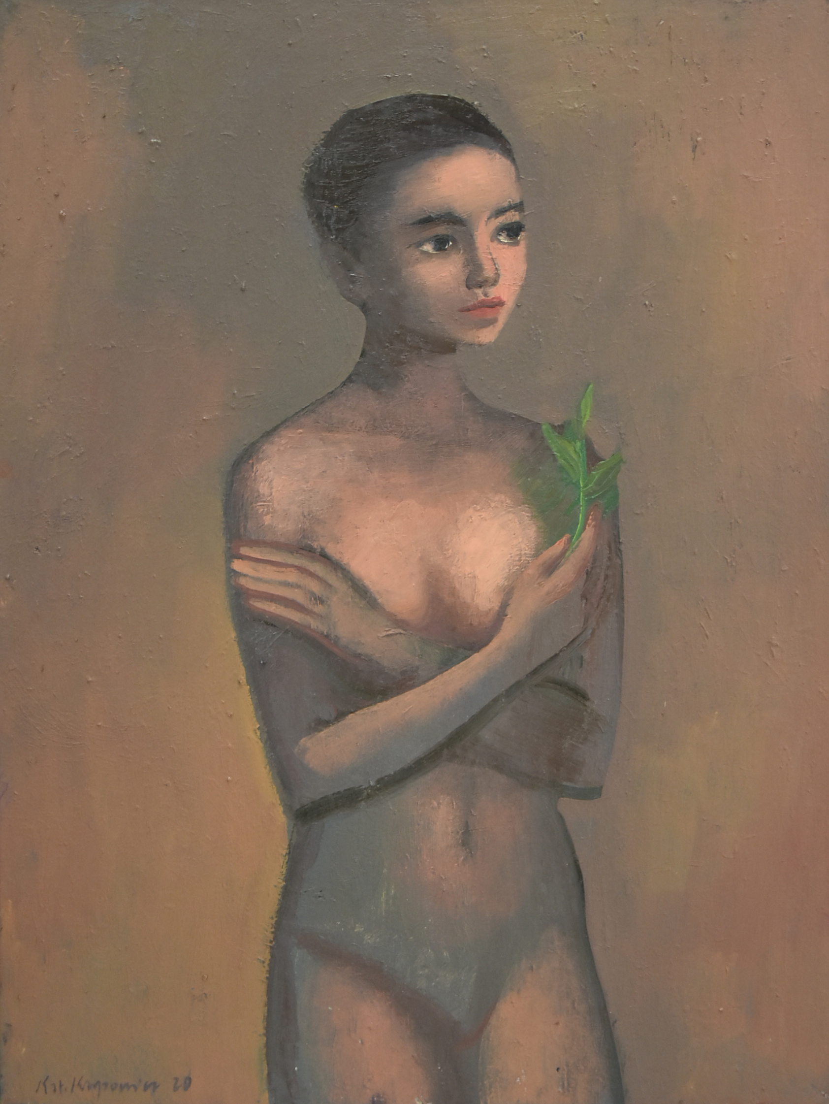 Girl with the plant, 2020