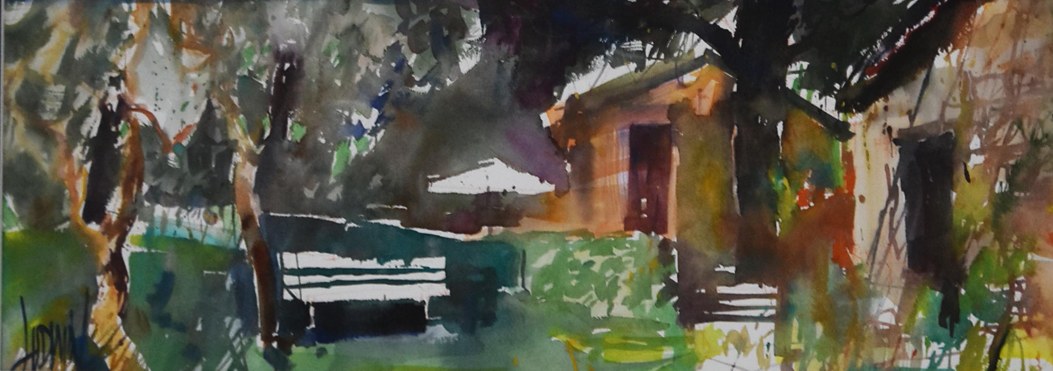 Toskania-ciche malowanie, 2018