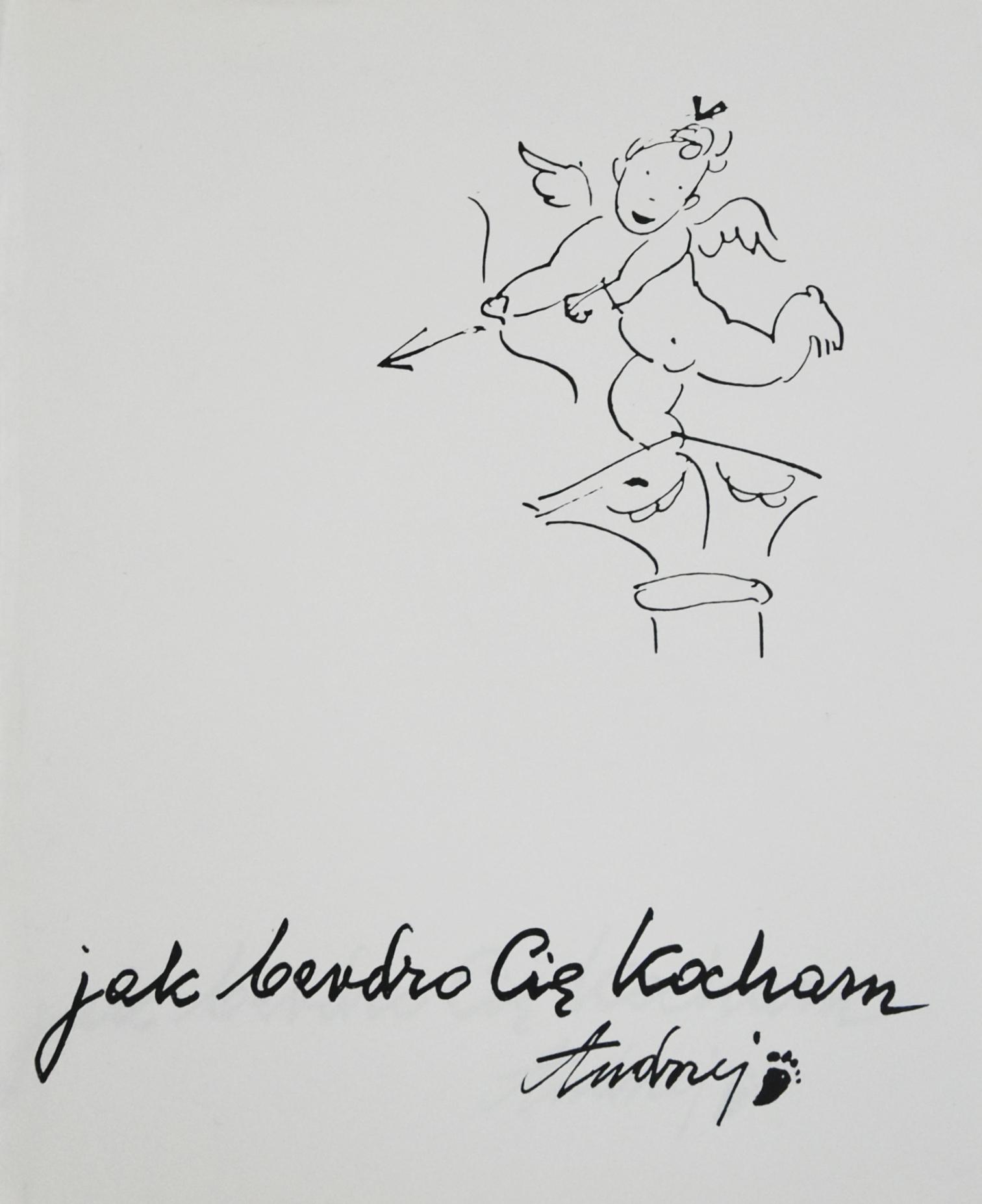 """Książka """"Jak bardzo Cię kocham"""" z czterema oryginalnymi pracami"""
