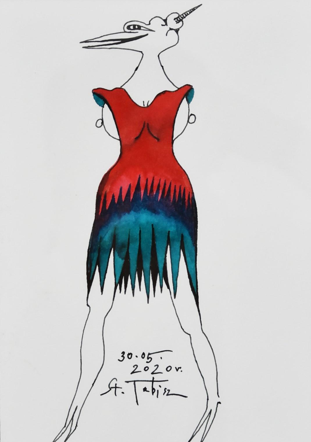 Jednorożec w sukience plażowej, 2020