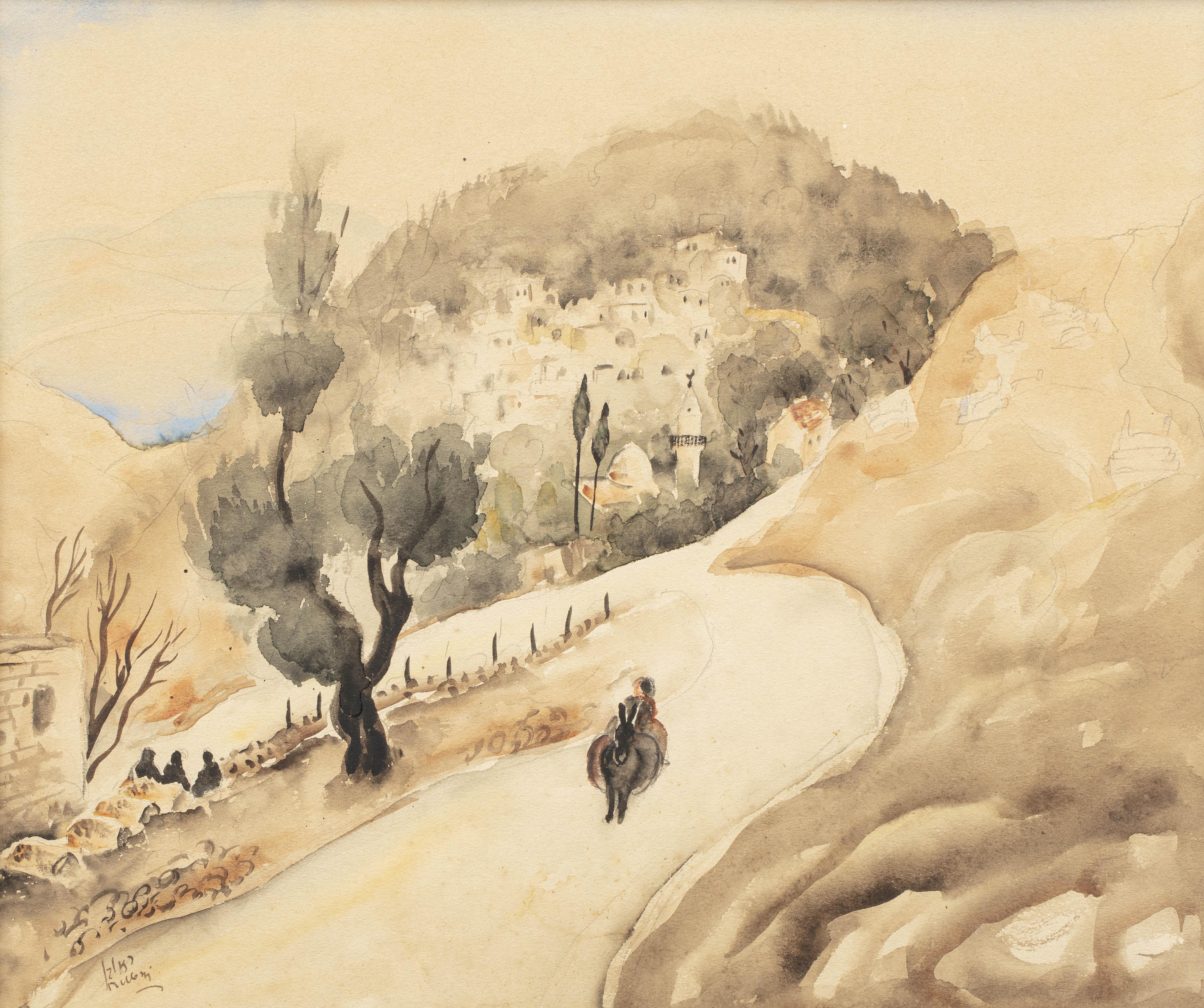 Krajobraz Galilei, około 1930