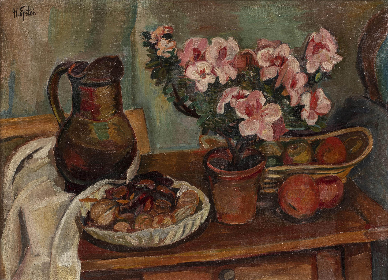 Kompozycja z kwiatami