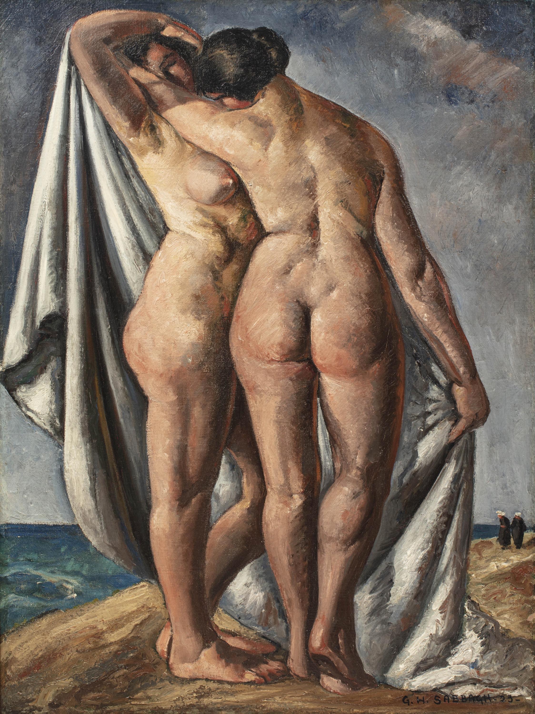 Dwie nagie kobiety