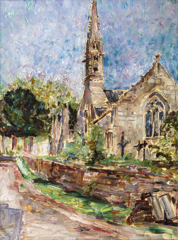 Kościół w Bretonii