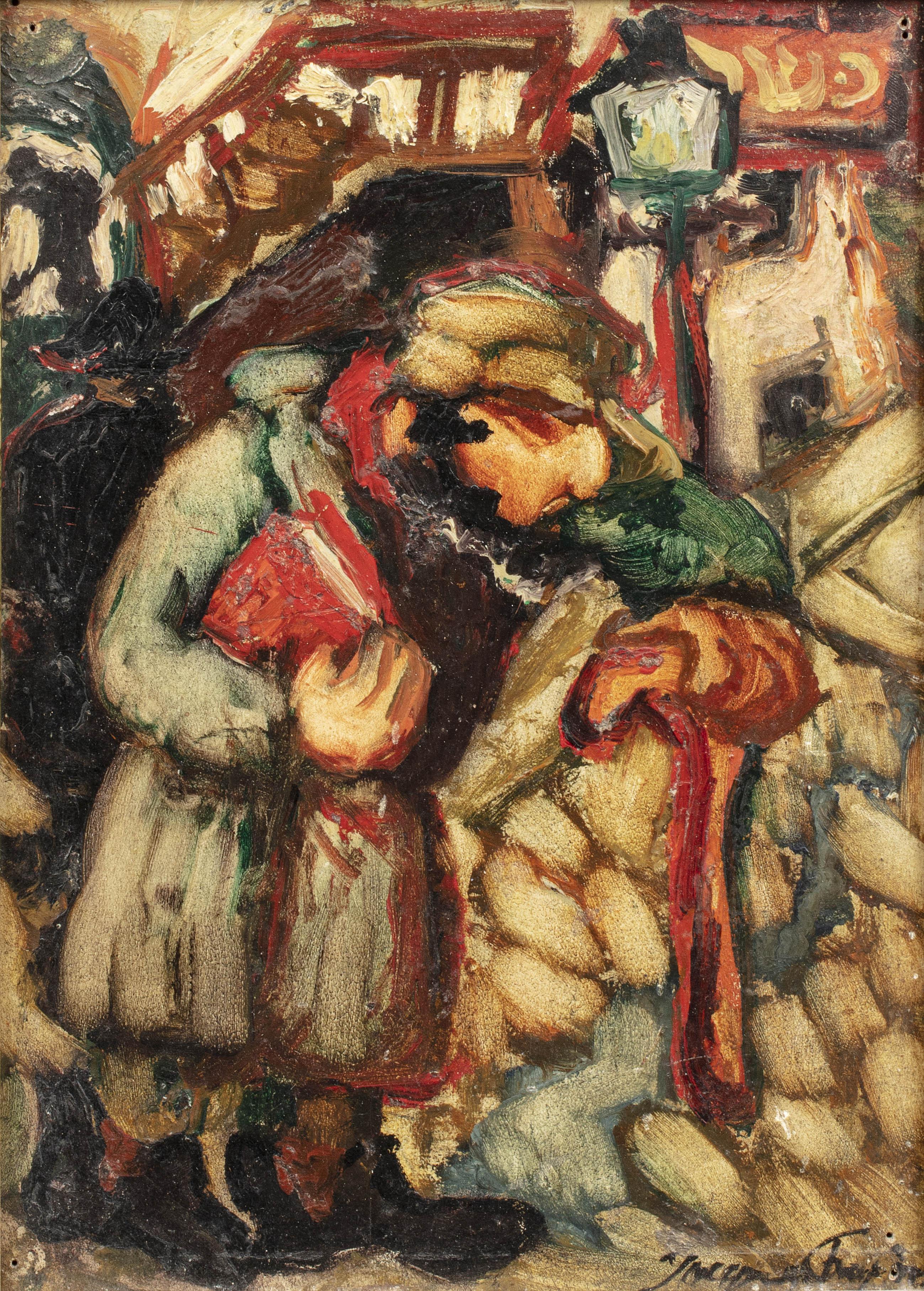 Pocałunek, ok. 1927