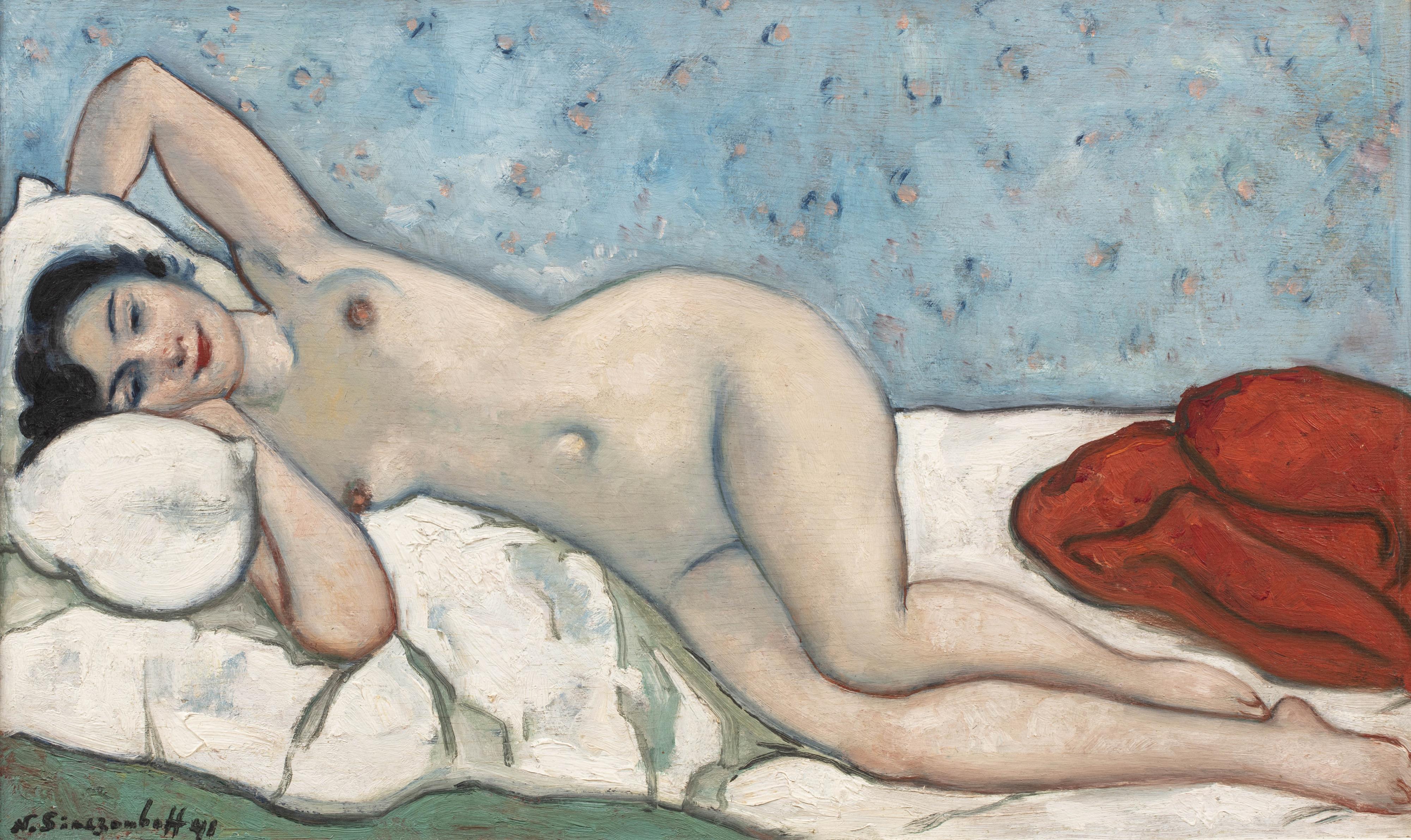 Kobieta nago, 1941