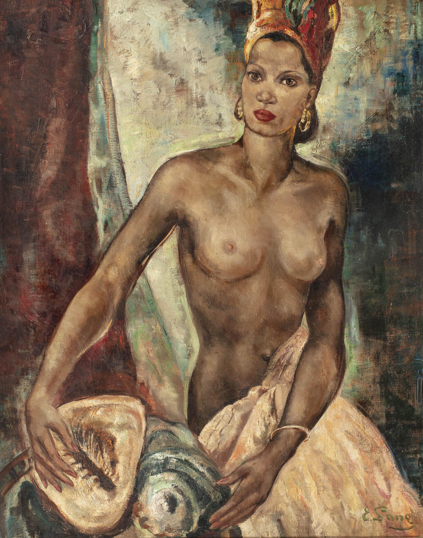 Kobieta z muszelkami