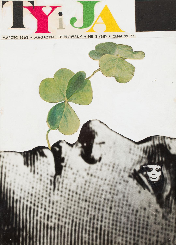 """Projekt okładki pisma """"Ty i Ja"""" nr 3 (35), 1963"""