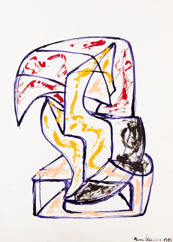 Kompozycja abstrakcyjna, 1982