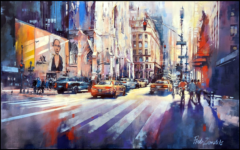 Metropolis: Sunny Fifth Avenue, New York, 2020