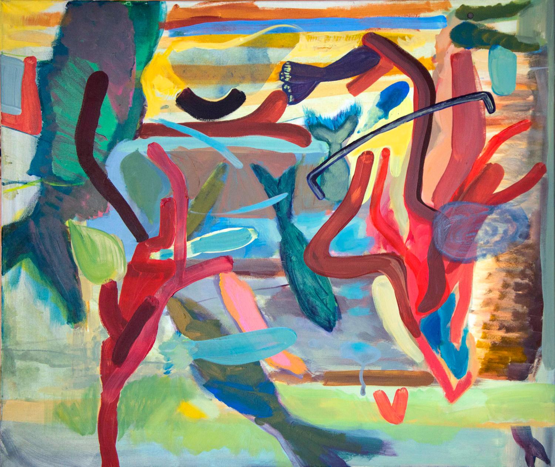 Aquarium Abstract XI abstract series, 2015