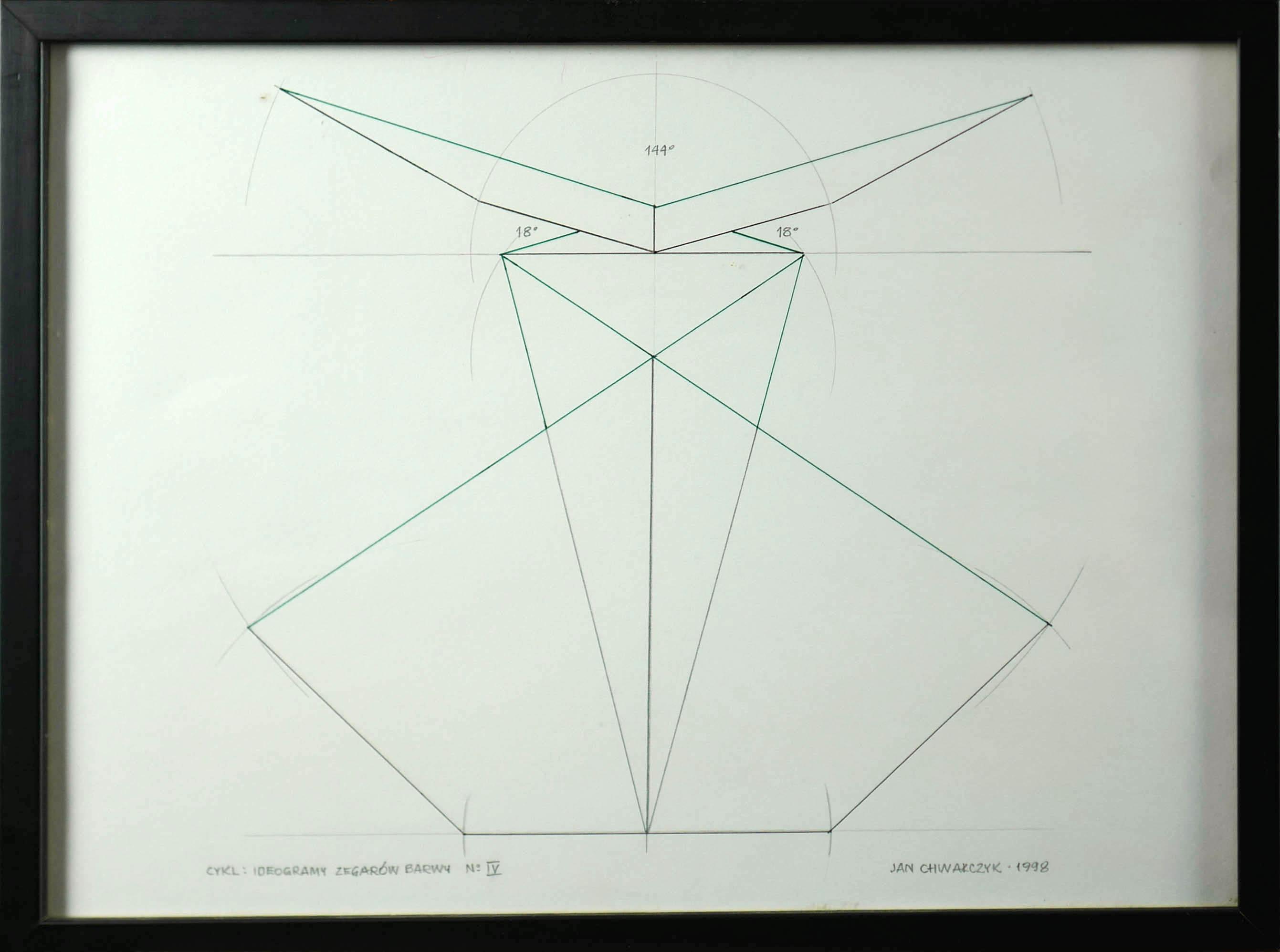 Ideogramy Zegarów Barwy N:IV, 1998 r.