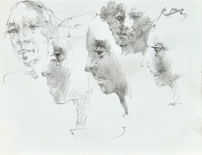 Szkice twarzy