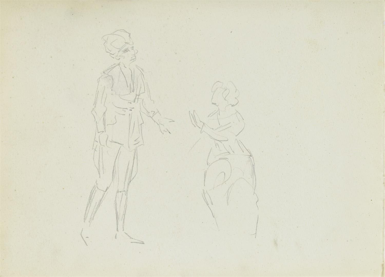 Szkice dwu kobiet, 1922