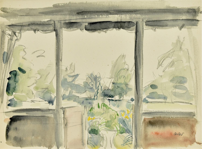 Widok z okna, 1916