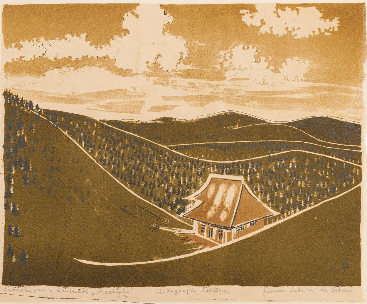SCHRONISKO NA PRZECHYBIE, po 1938