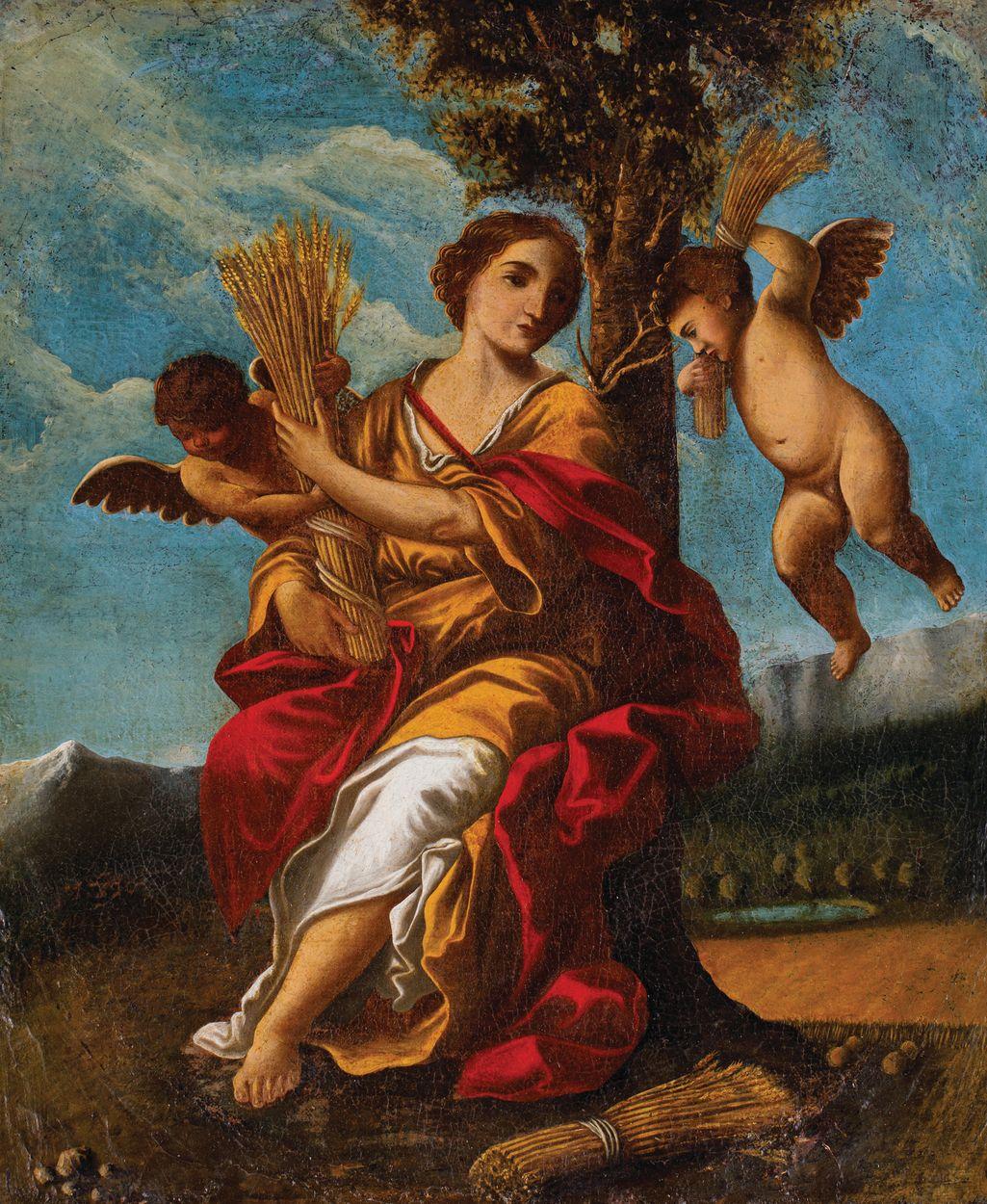 ALEGORIA LATA, XVII w.