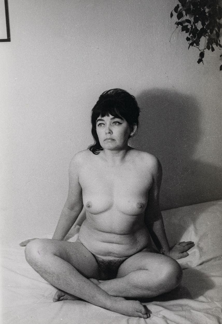 AKT SIEDZĄCY, ok. 1970