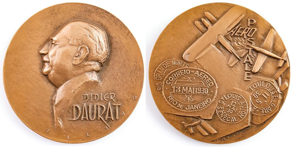 MEDAL, DIDIER DAURAT, Mennica Paryska, 1971