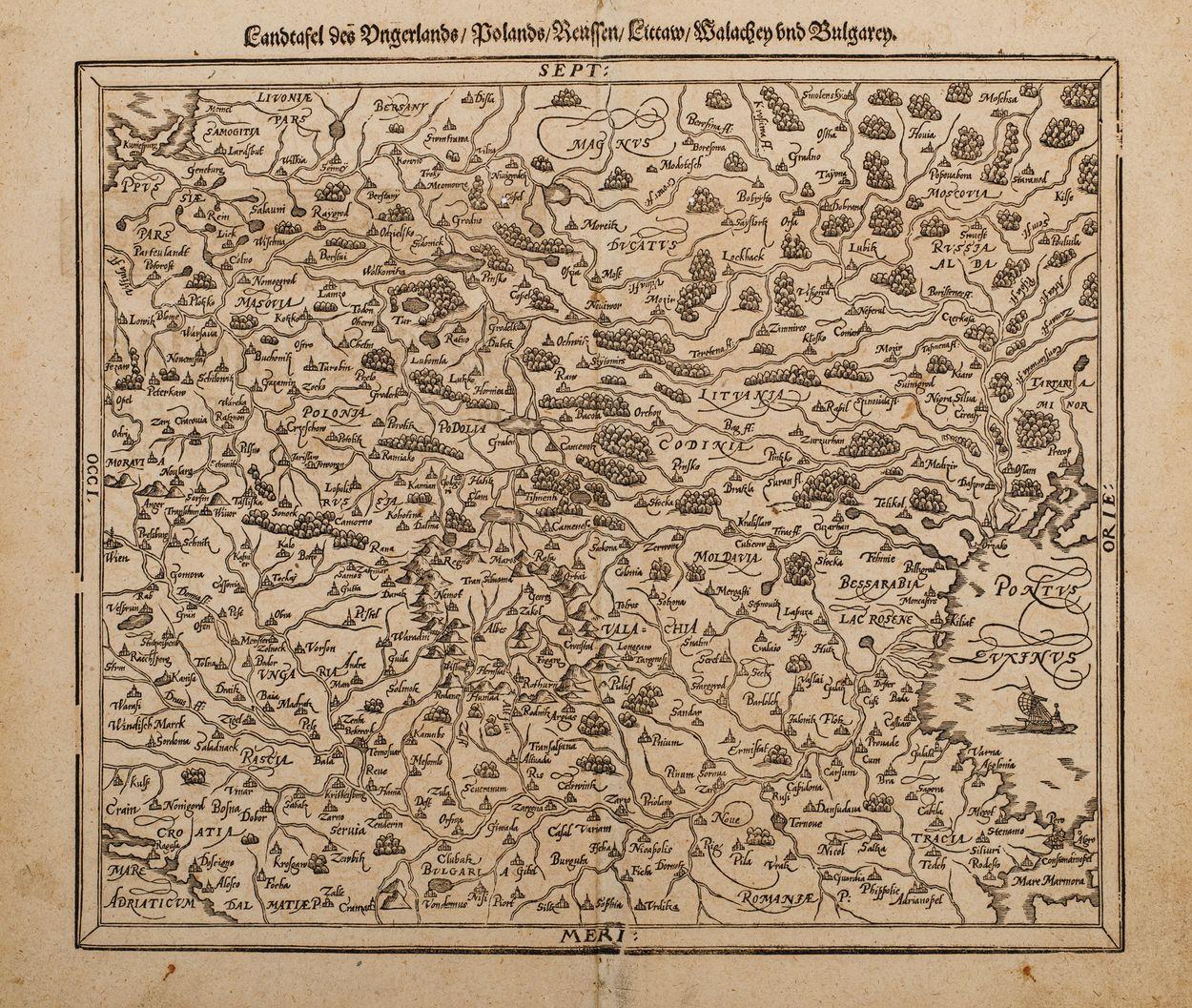 MAPA EUROPY ŚRODKOWO-WSCHODNIEJ