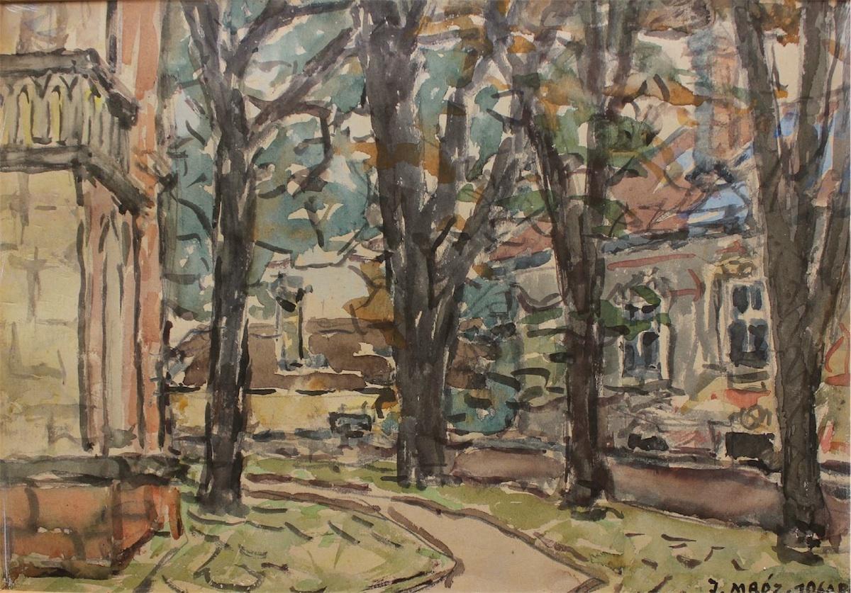 Pejzaż z Sandomierza (1960)