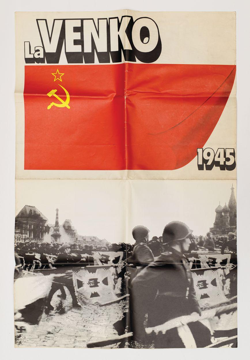 Plakat, LA VENKO (Zwycięstwo), 1985