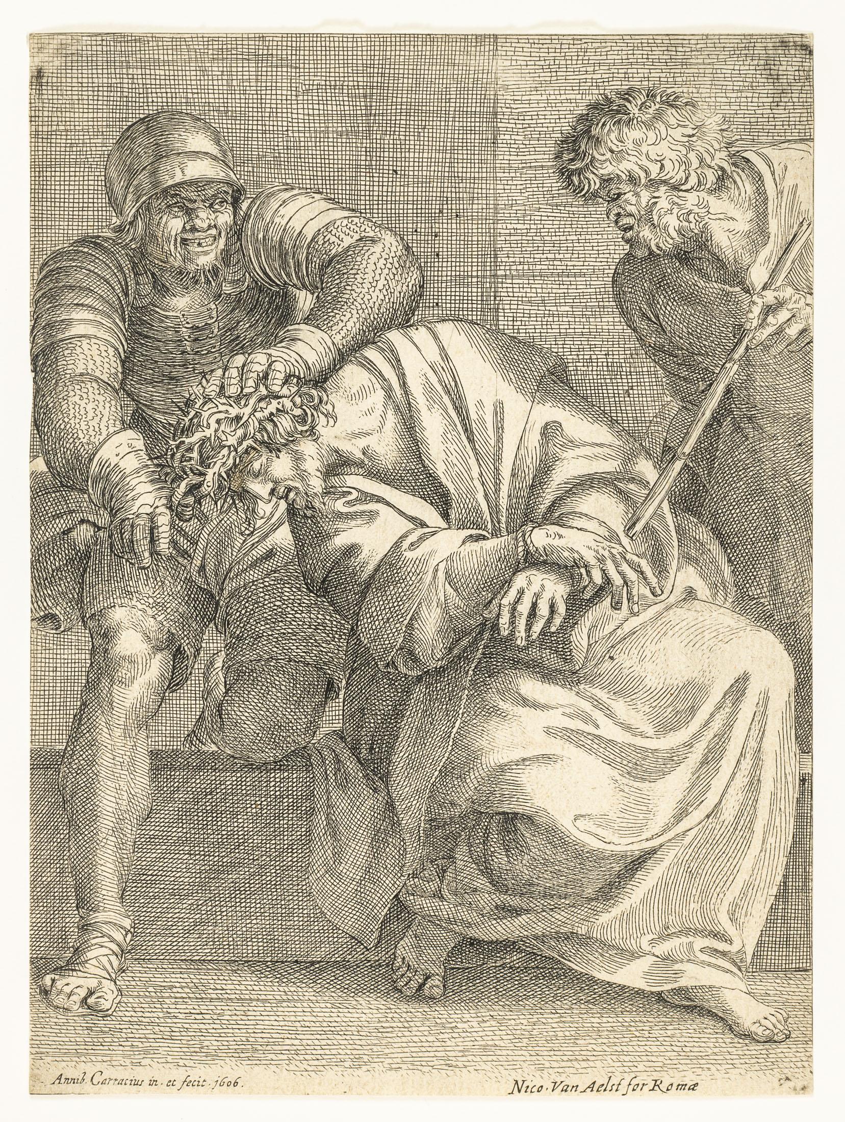 Cierniem koronowanie, 1606
