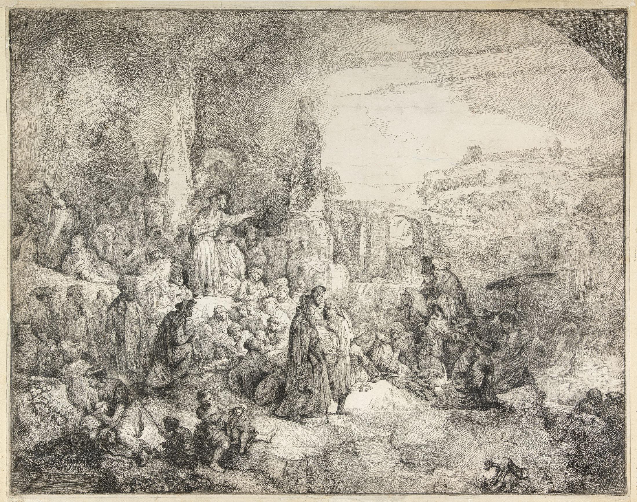 Kazanie św. Jana Chrzciciela, 1808