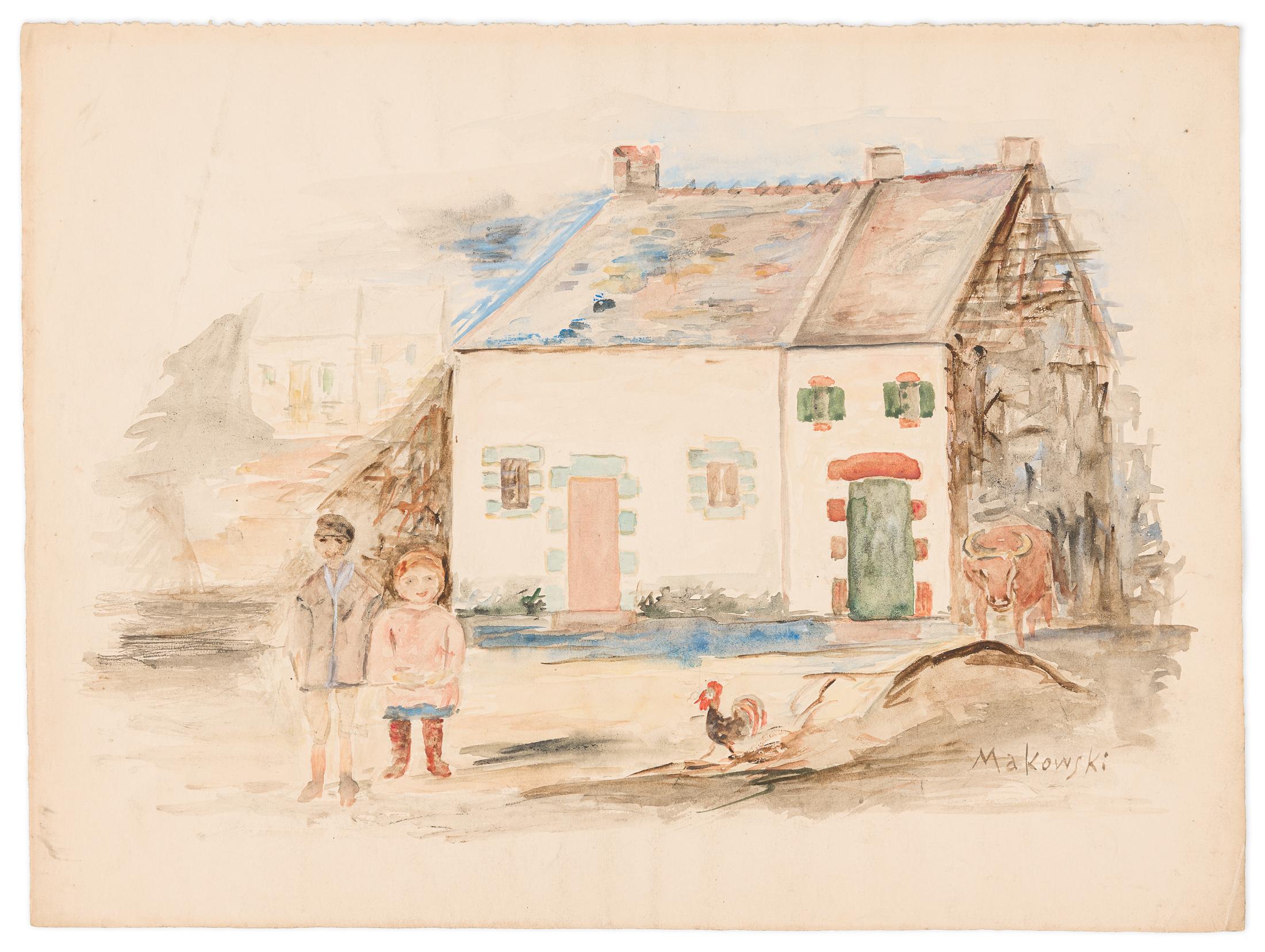 Dzieci na podwórku, 1932