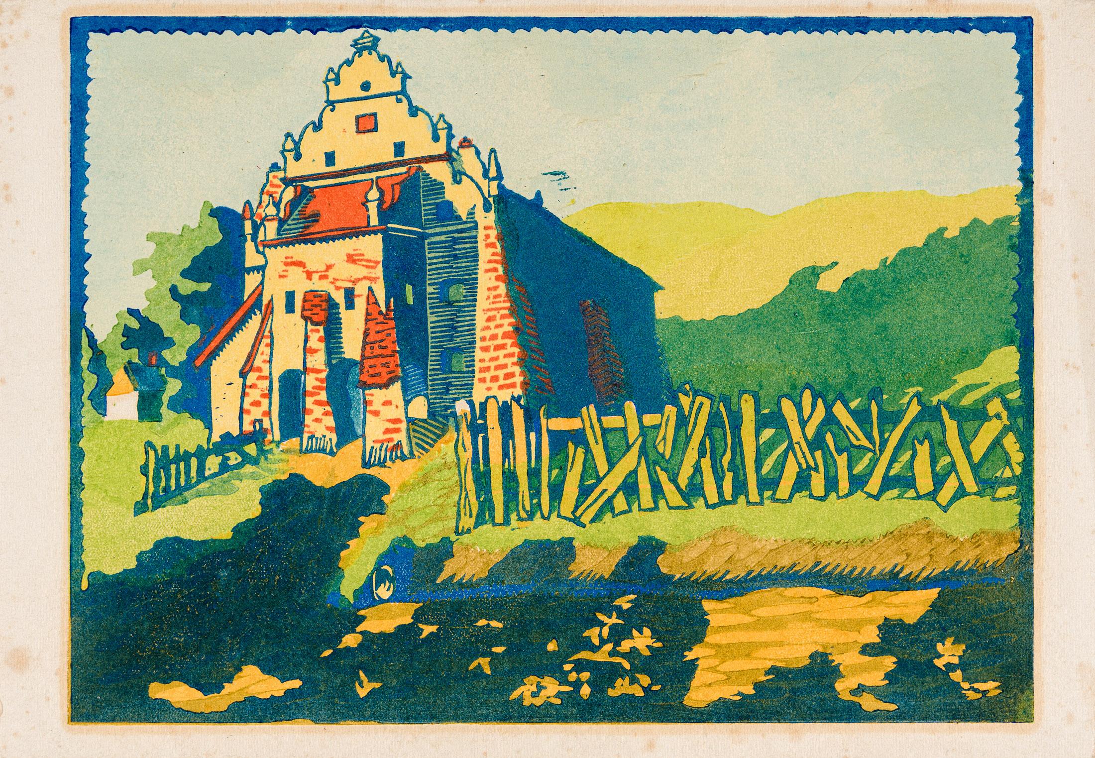 Spichlerz w Kazimierzu Dolnym, lata 20. XX w.