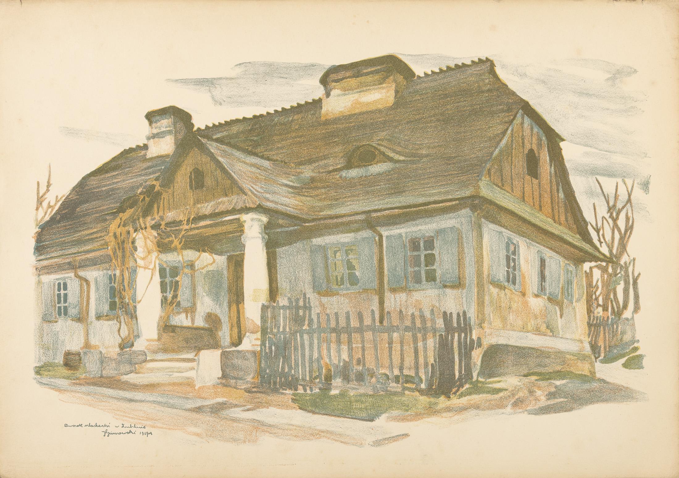 Dworek szlachecki, 1918