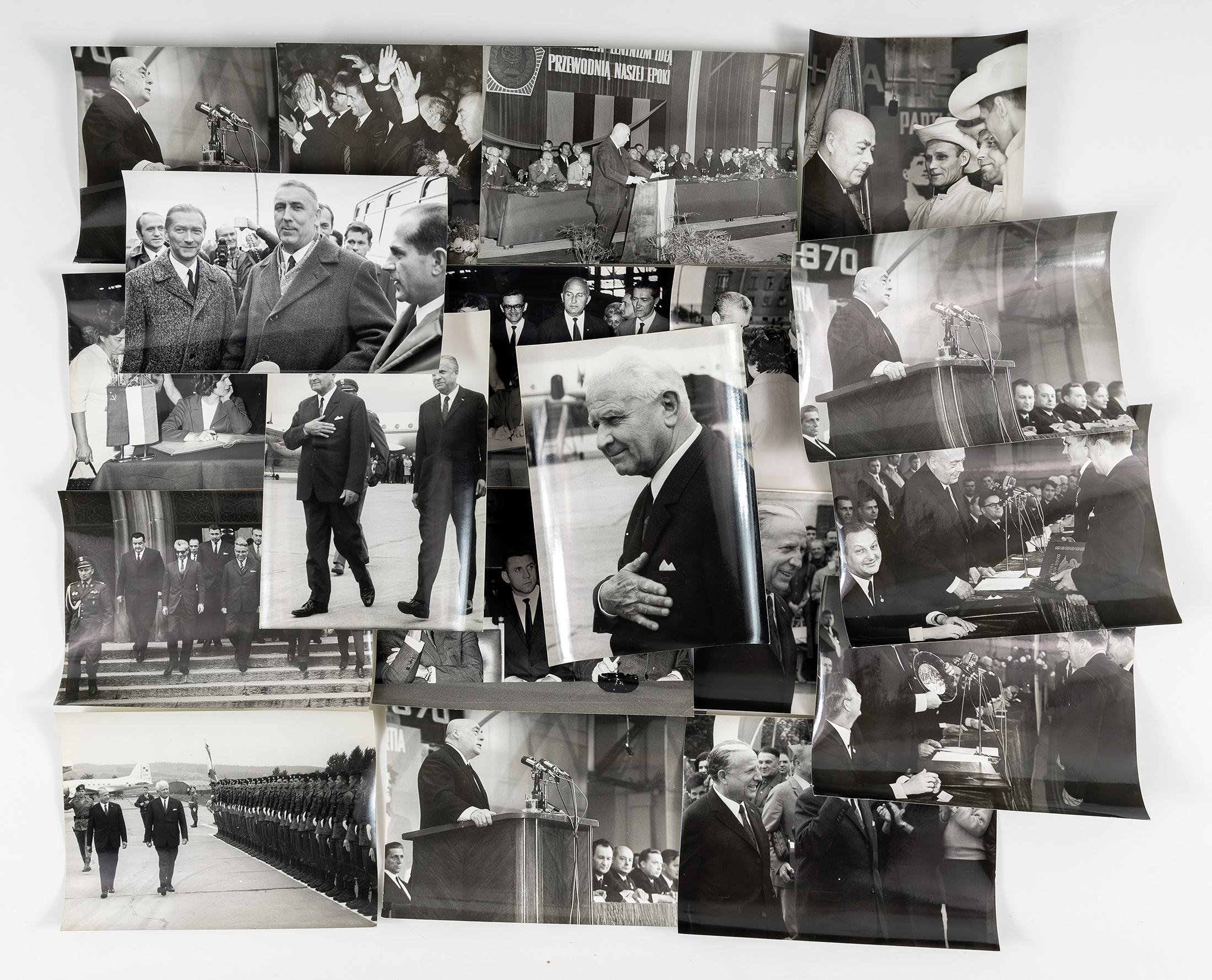 Z gospodarską wizytą, lata 70. XX wieku