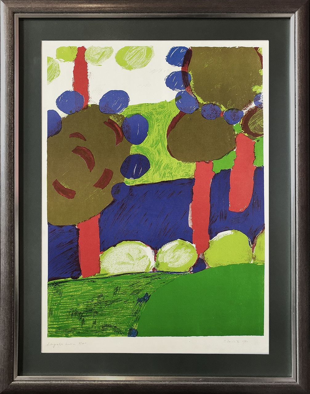 Drzewa, 1991