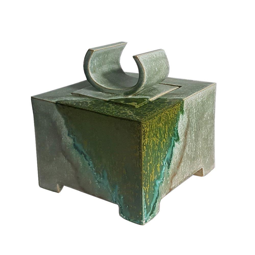 """Pojemnik ceramiczny """"Malachit"""" (2020)"""