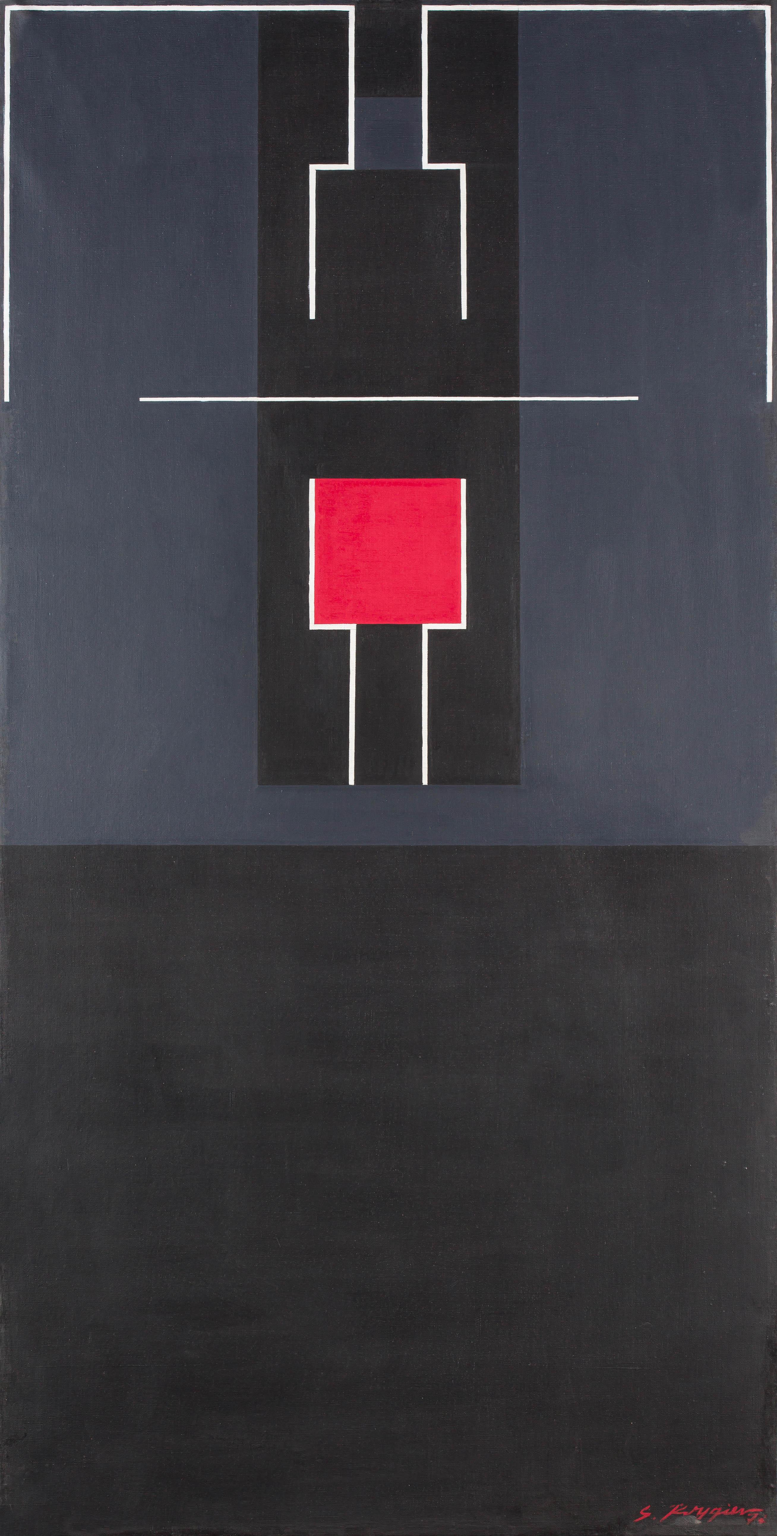 Konstruowanie przestrzeni II, 1977