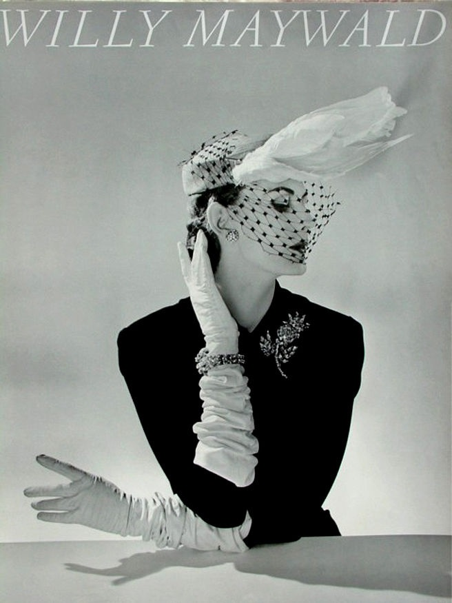 Willy Maywald Chapeau Fath / Paris 1951, lata 80 XX wieku