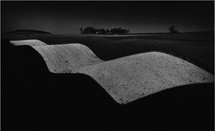 Krajobraz falisty, 1958
