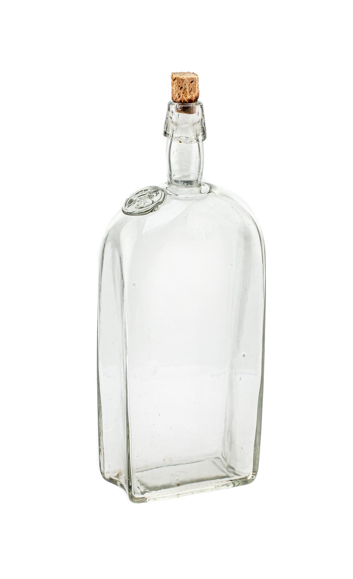 Butelka z herbem 'Pilawa', XIX/XX w.