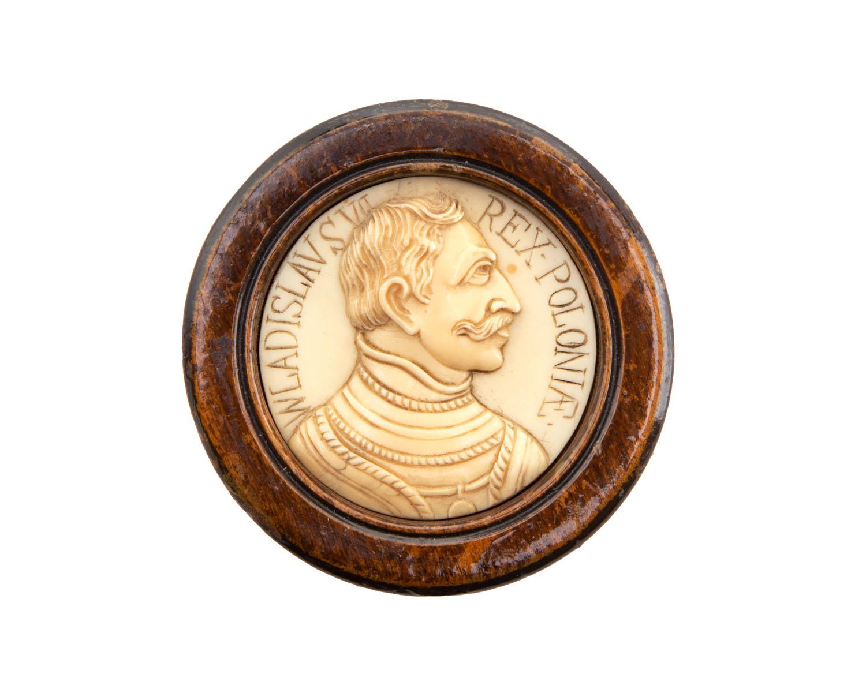 Medalion z popiersiem Władysława VI?, 2 poł. XIX w.