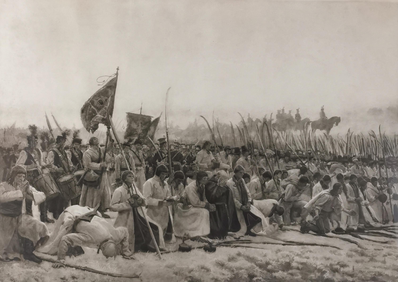 Modlitwa [Przed bitwą pod Racławicami]