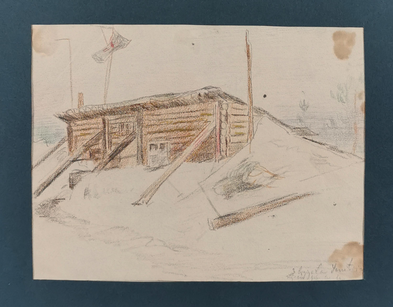 Na froncie, 1916